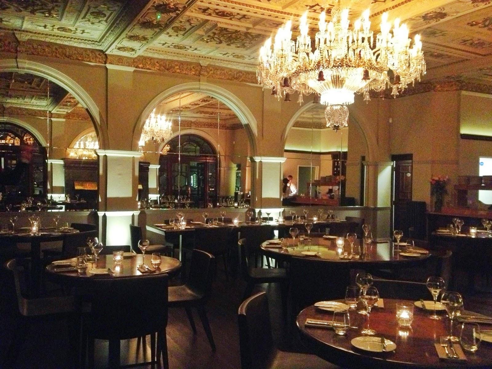 Crocker's Folly restaurant in St John's Wood, London