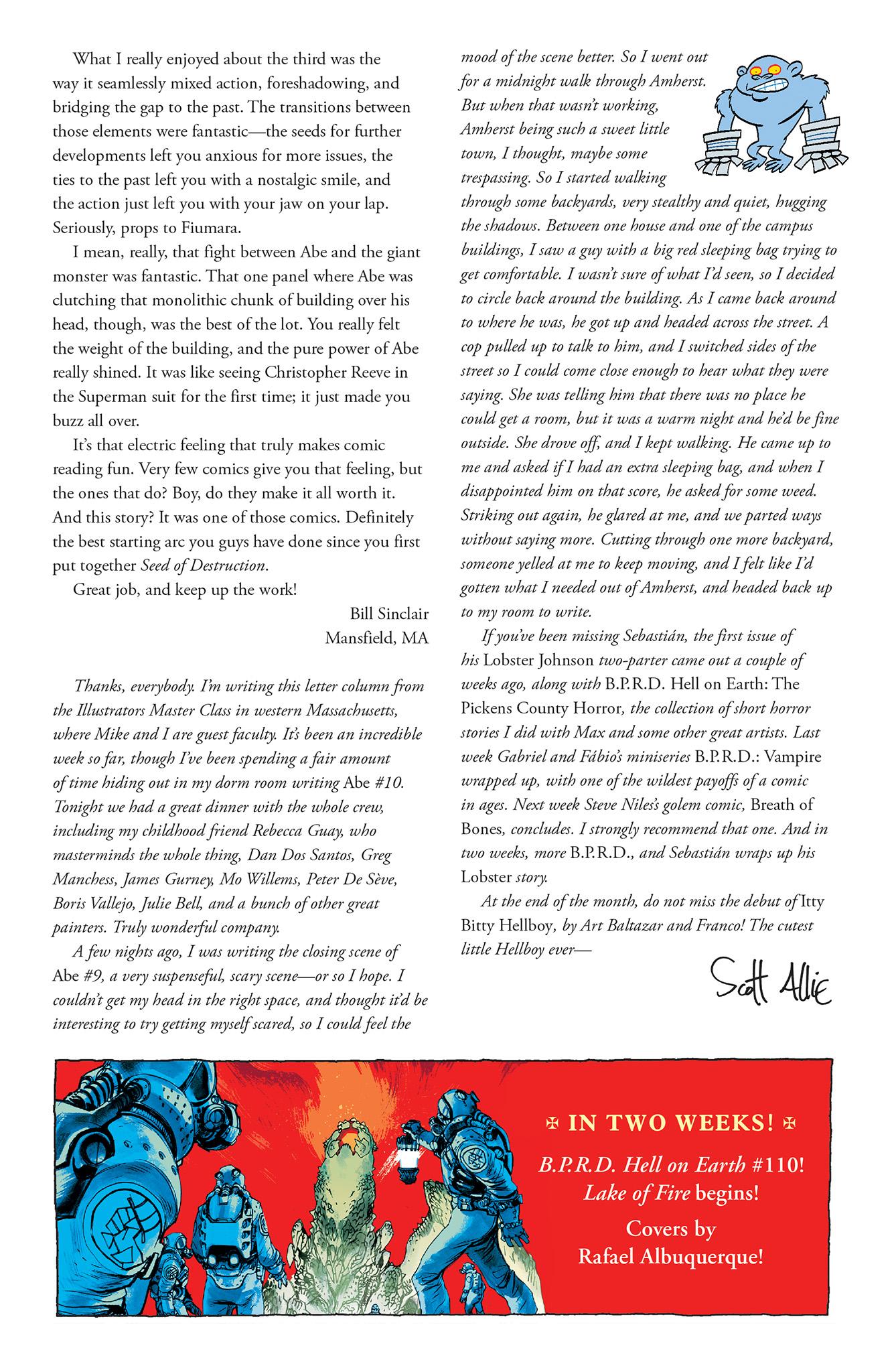 Read online Abe Sapien comic -  Issue #5 - 26
