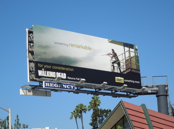 Walking Dead 3 Emmy Consideration billboard