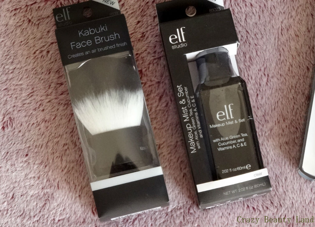 E.L.F Kabuki Brushes from iHerb through SingPost Singapore Haul and Review