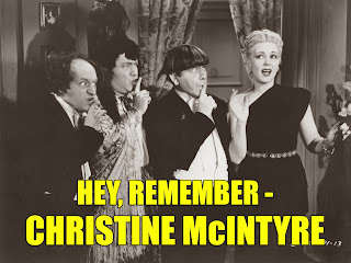 Three Stooges Remember Christine McIntyre supporting actress singer