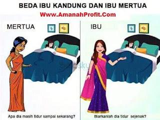 Lebih baik ngontrak di rumah sederhana dari pada serumah dengan mertua