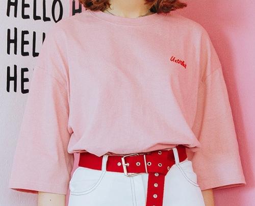 Half Sleeve Printed Back T-Shirt