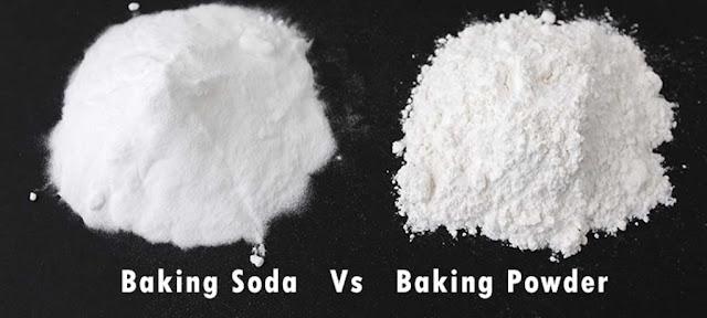 Baking soda and baking powder