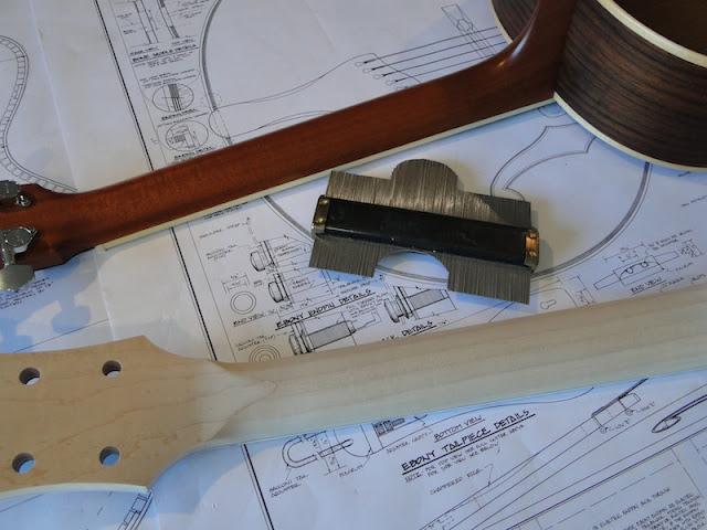 scott 39 s workshop notes archtop guitar build headstock and neck. Black Bedroom Furniture Sets. Home Design Ideas