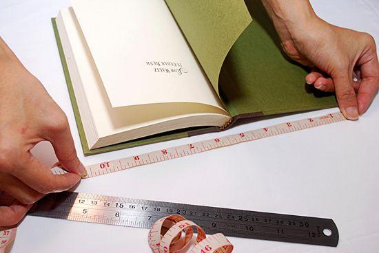 como hacer forros para libros