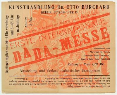 Dada exhibition Berlin 1920