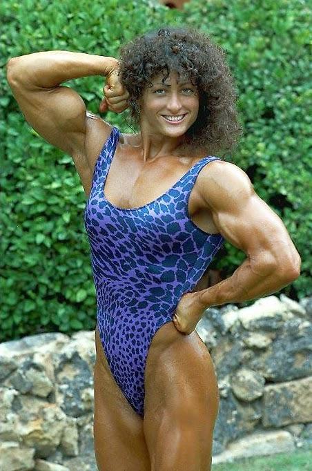 80s Female Muscle Alana Partipillo
