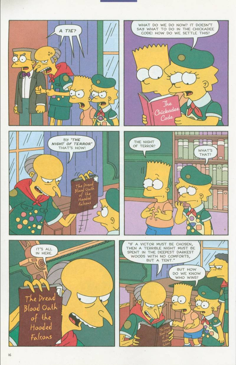 Read online Simpsons Comics comic -  Issue #63 - 17