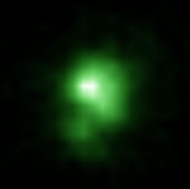 Green pea galaxy provides insights to early universe evolution
