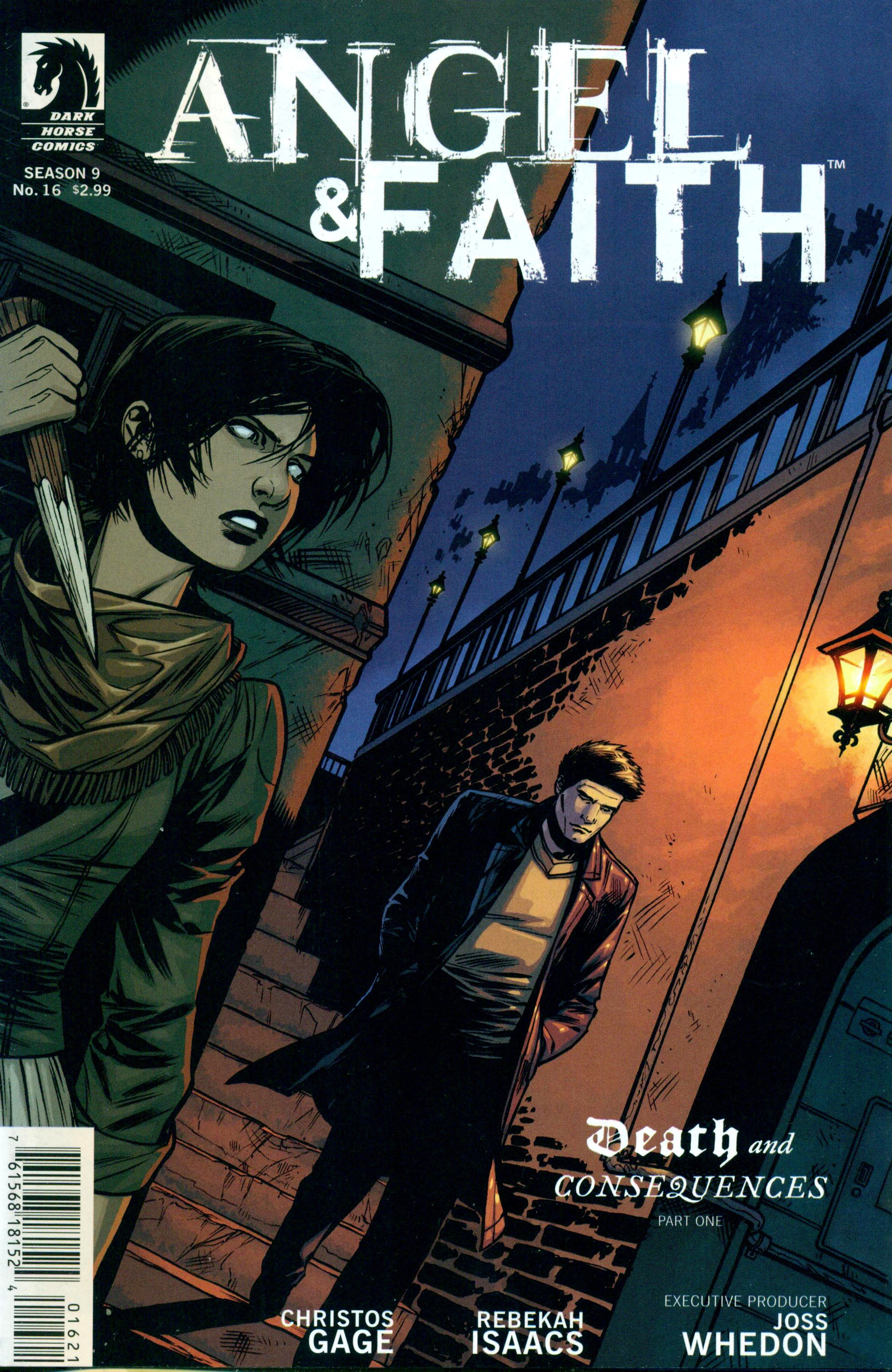 Read online Angel and Faith comic -  Issue #16 - 2