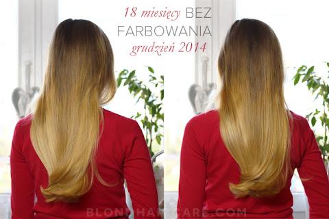 Moje włosy - grudzień 2014 | 18 miesięcy bez farbowania | Piramida pielęgnacji - czytaj dalej »
