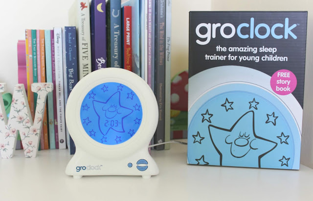 A review of the Groclock sleep trainer for young children