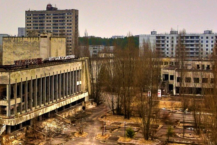 Pripyat şehri meşhur Çernobil felaketinin ardından tamamen boşaltıldı.