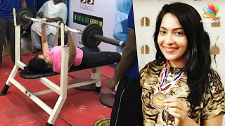 Vj Ramya fought and won the bronze at State Level Powerlifting | Latest Celebrity News