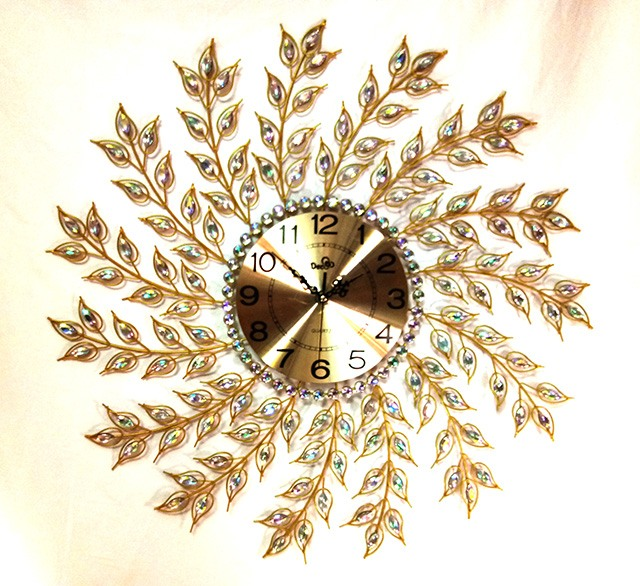 Đồng hồ trang trí treo tường Deco V10