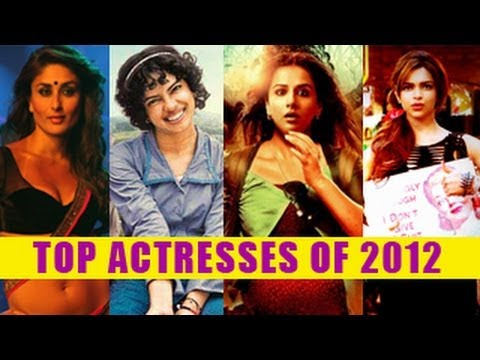 Best Bollywood Actresses of 2012