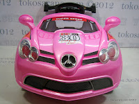 1 Pliko PK8000 Mercedes Remote Controlled Battery-operated Toy Car