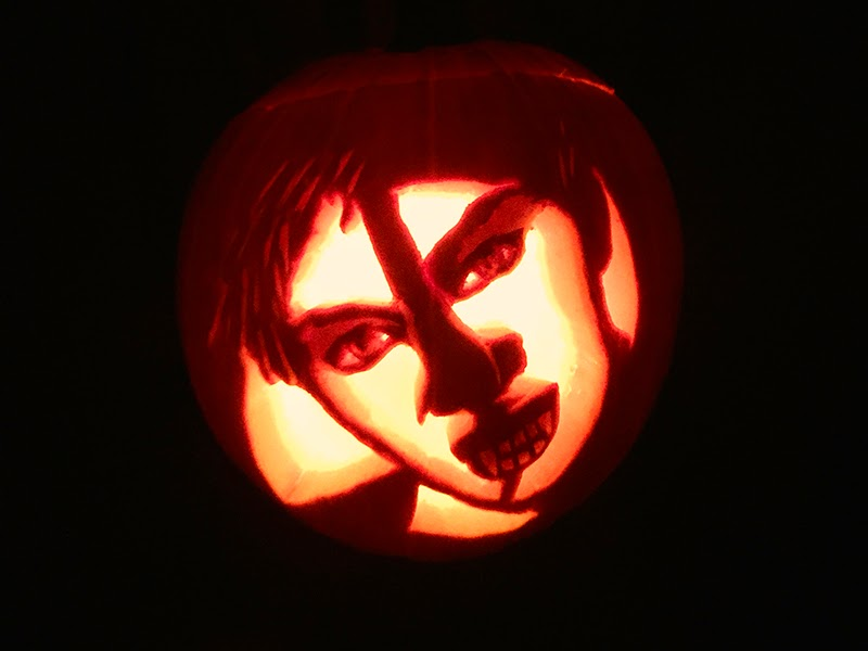 "Boyfriend ""Witch"" Jack-o'-Lantern"