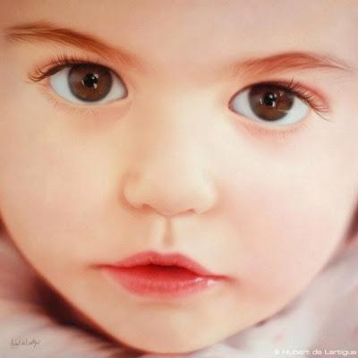 retratos-de-niños-al-oleo