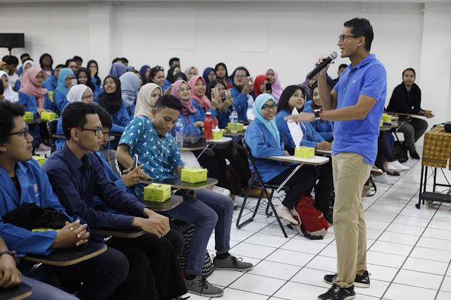 Didominasi Prabowo-Sandi, LSI: Suara Kaum Terpelajar Mampu Giring Opini Publik