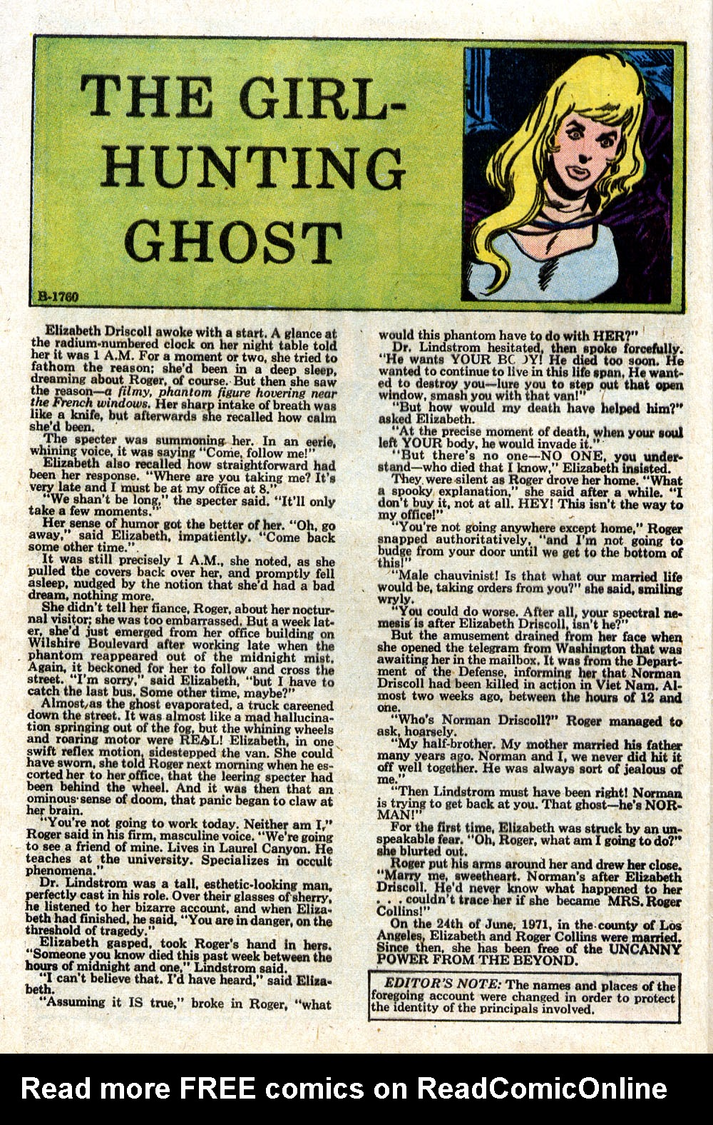 Read online Ghosts comic -  Issue #18 - 18