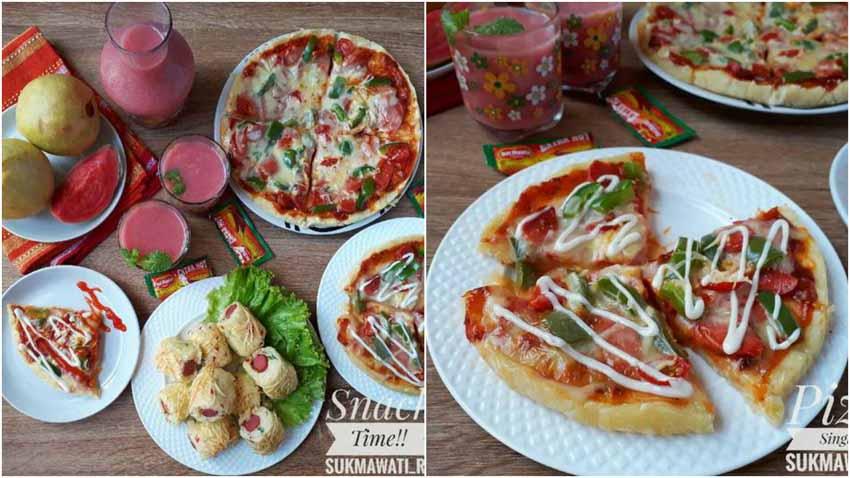 Resep Membuat Pizza Singkong