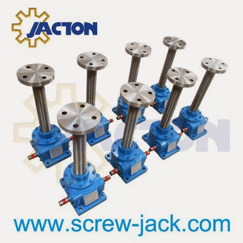 Fabrication Hand Crank Miniature Acme Shaft Gear Lift Systems Building Handle Tables Design Wheel