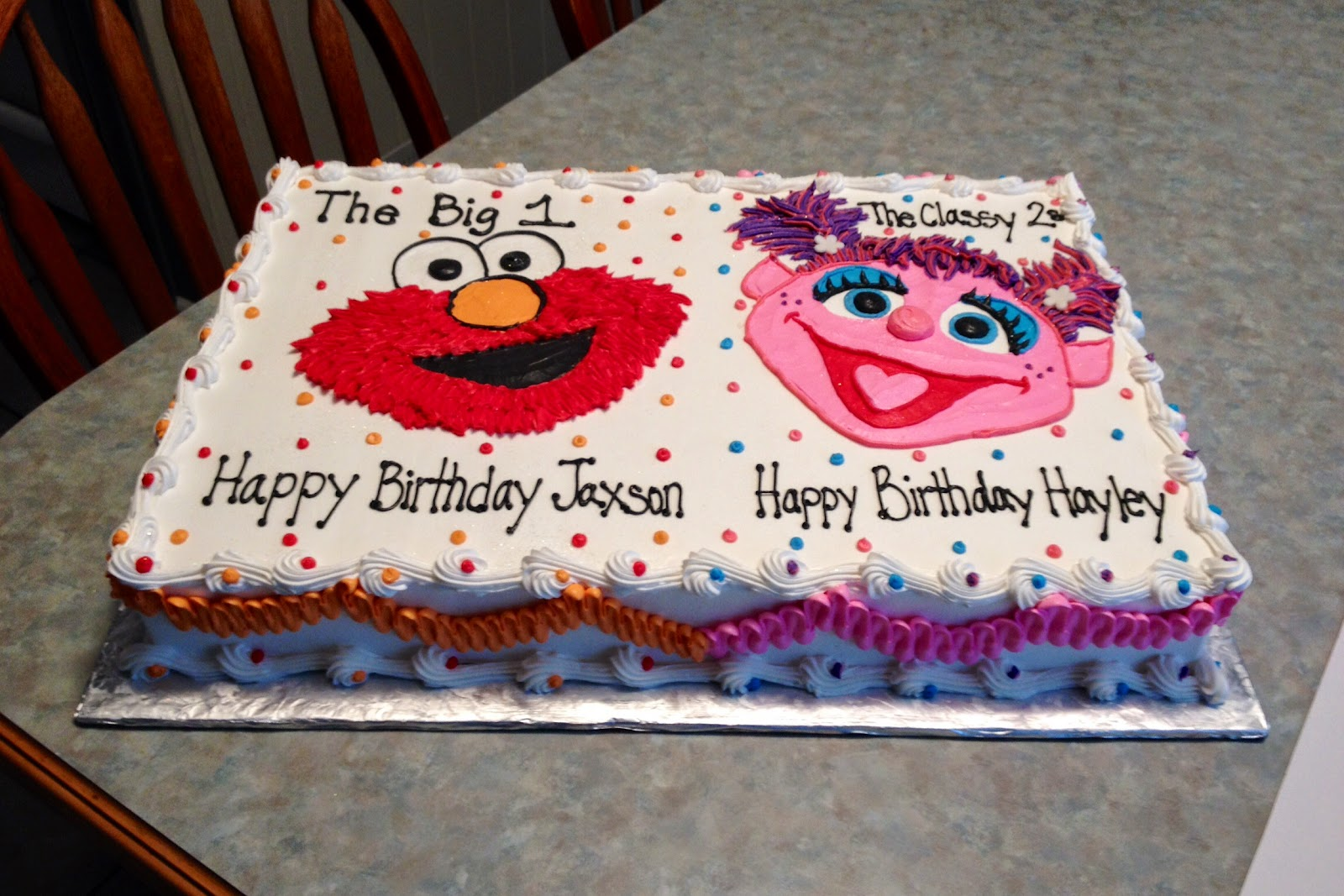 kids grace ful cakes on elmo abby birthday cake