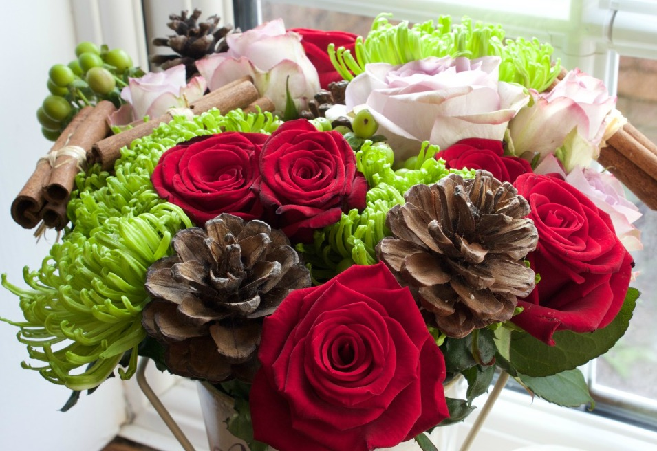 Prestige Flowers Christmas Bouquet