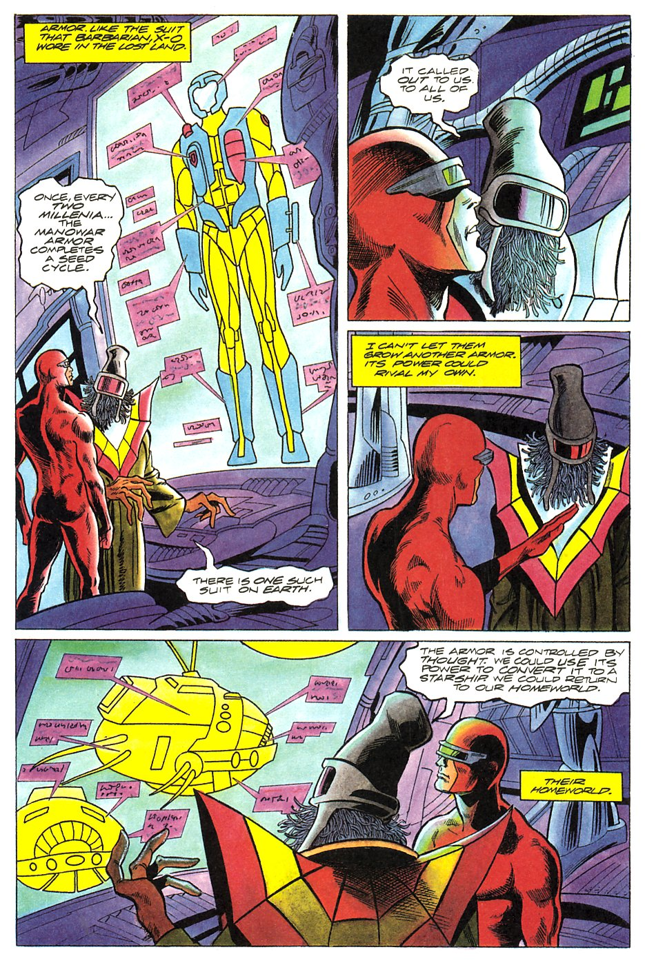 Read online Solar, Man of the Atom comic -  Issue #17 - 10
