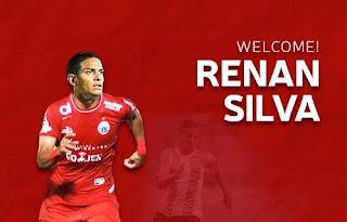 Transfer Pemain Liga 1: Persija Rekrut Playmaker Renan Silva