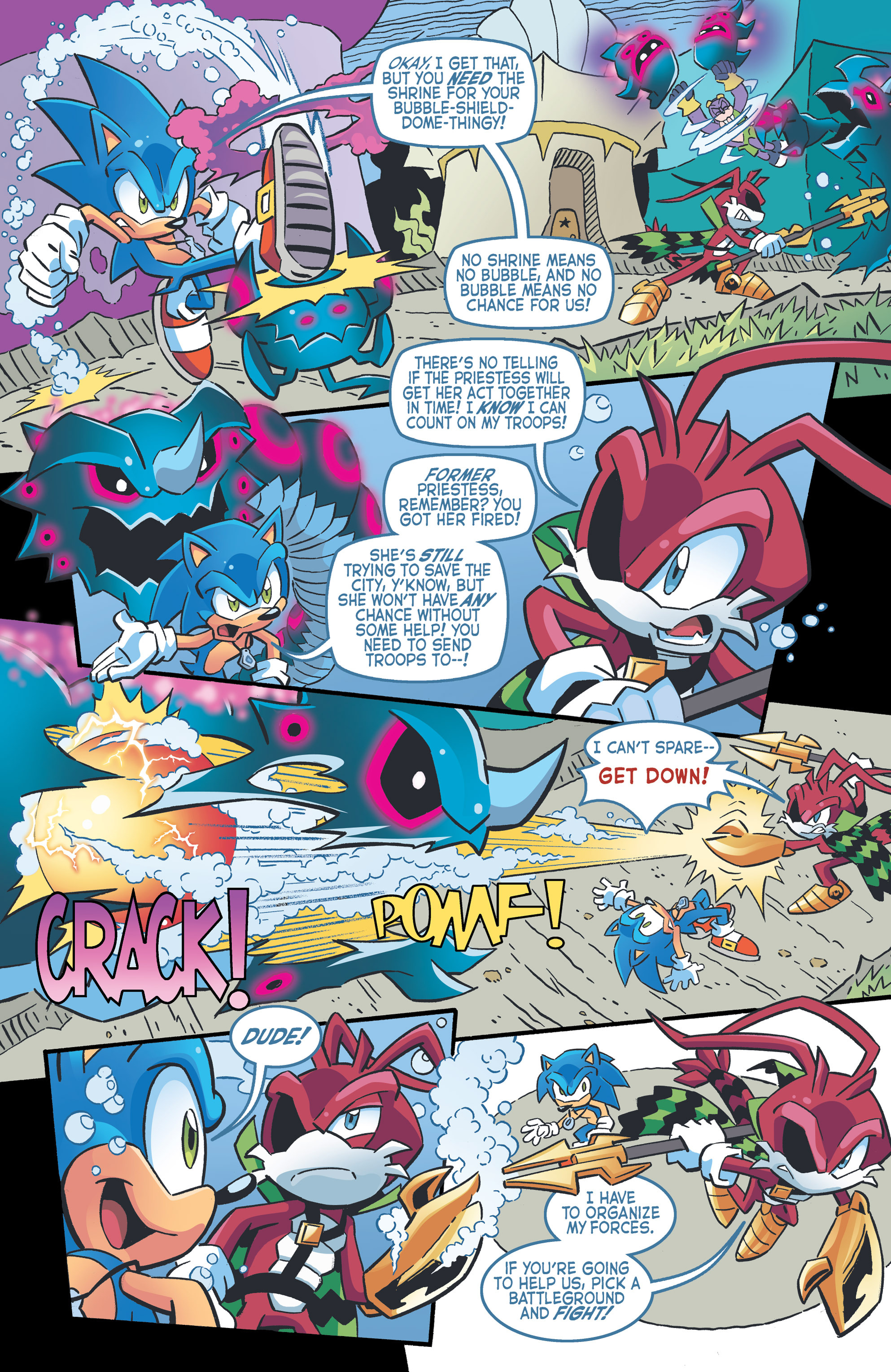 Read online Sonic The Hedgehog comic -  Issue #262 - 8