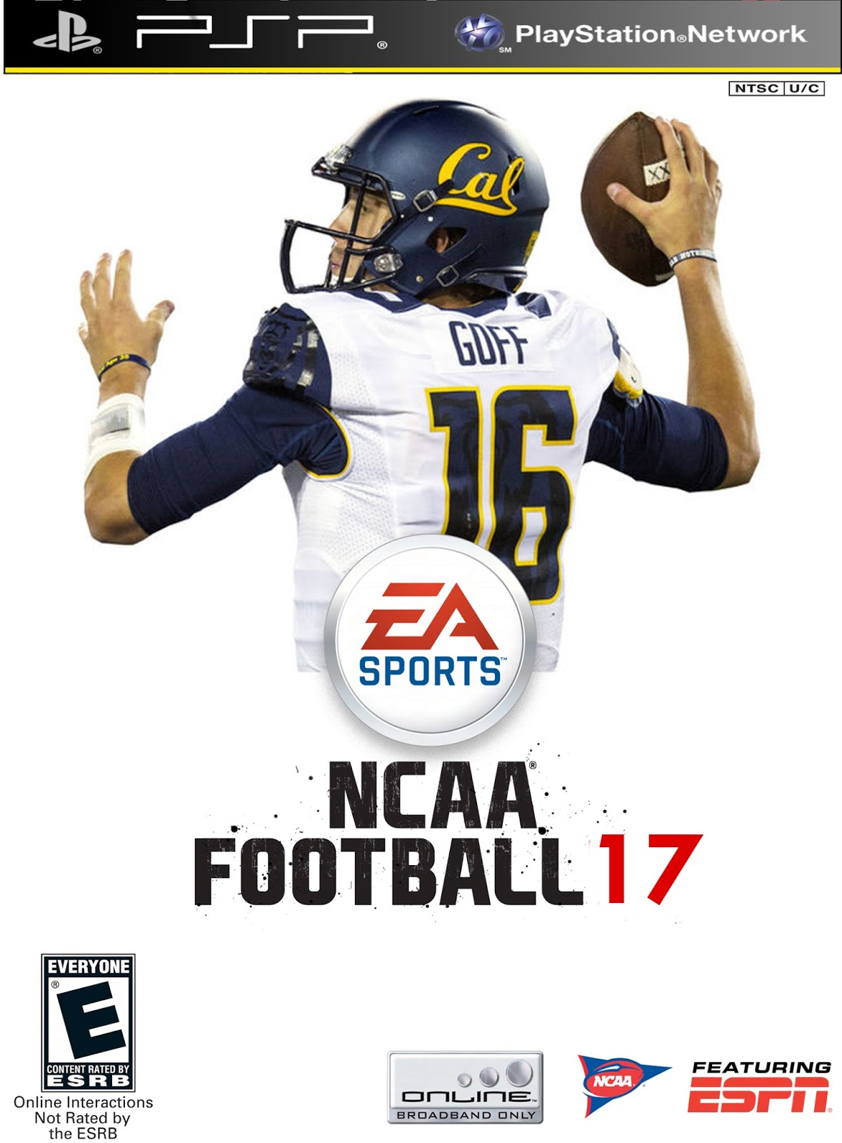 NCAA Football 2016-17 for Playstation 2 and PSP now available!!