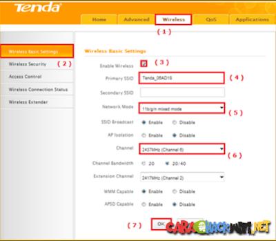 Cara Merubah Password dan Nama Wifi di Router N301