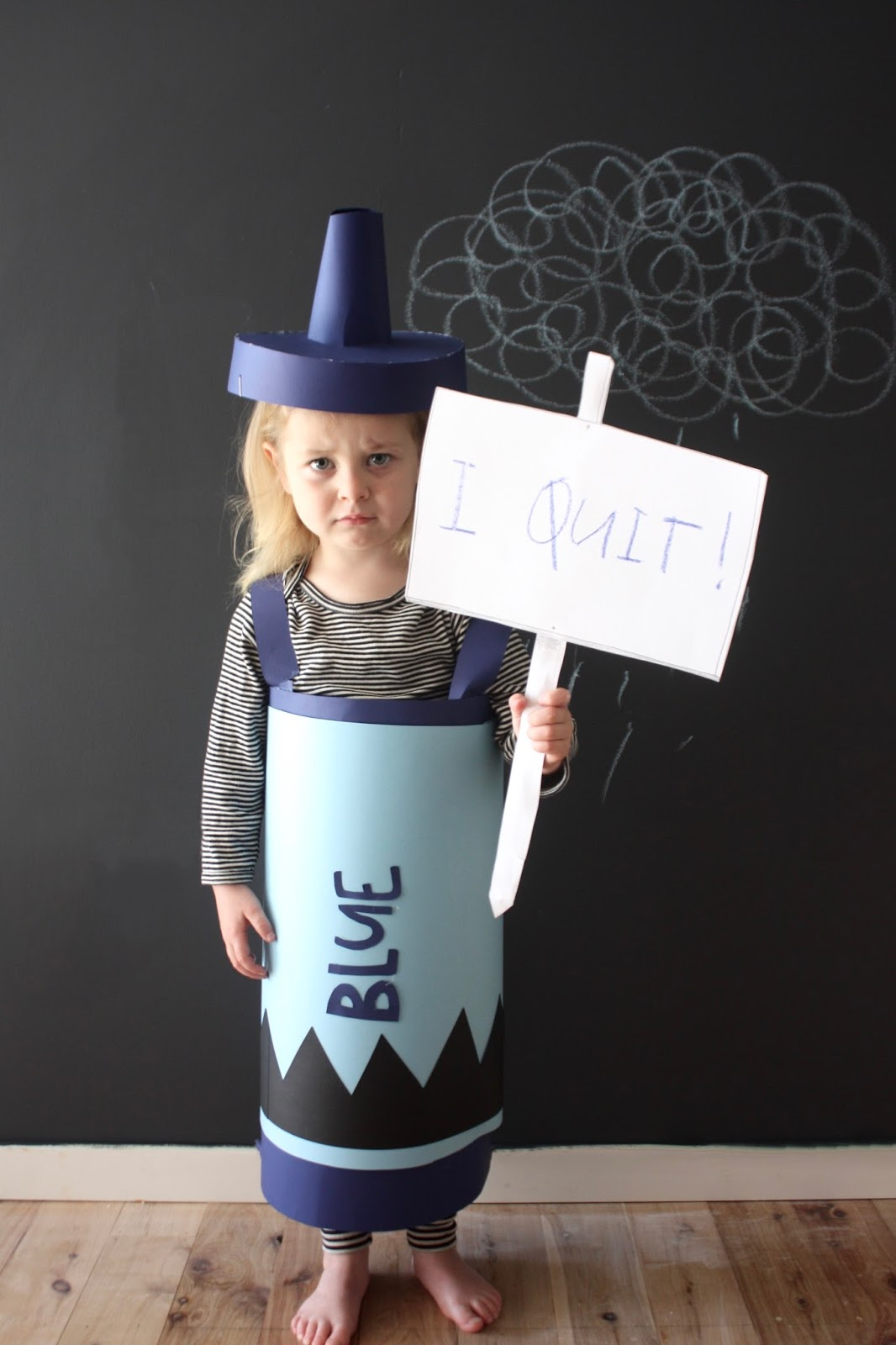 The happy home book week parade costume idea the day the crayons quit solutioingenieria Gallery