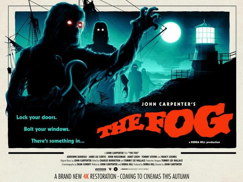 the fog 4k poster