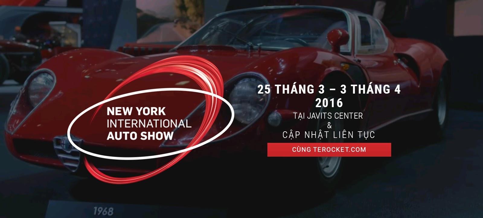 New York Auto Show 2016 từ A đến Z