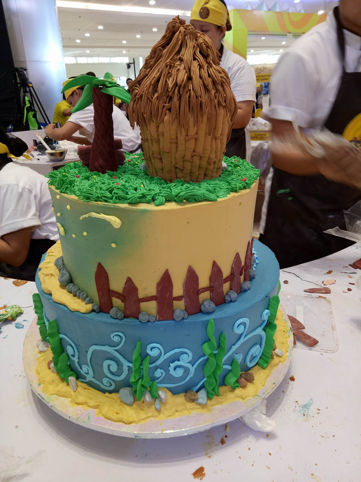 Timeless designs 12th goldilocks intercollegiate cake decorating a goldilocks decorate your cake dyc corner amazing cake displays and a chance to see goldilocks endorser judy ann santos agoncillo who graced the m4hsunfo