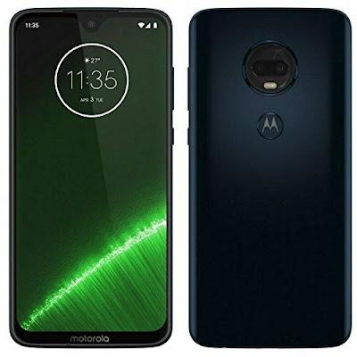 Moto G7 Plus Smartphone: 6.2-Inch 64GB Motorola 4G Android 2-Sim Phone - Fingerprint, 3000mAh Battery