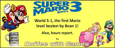 Coffee With Games: Super Mario Bros  3 Hours Report & World 5-1