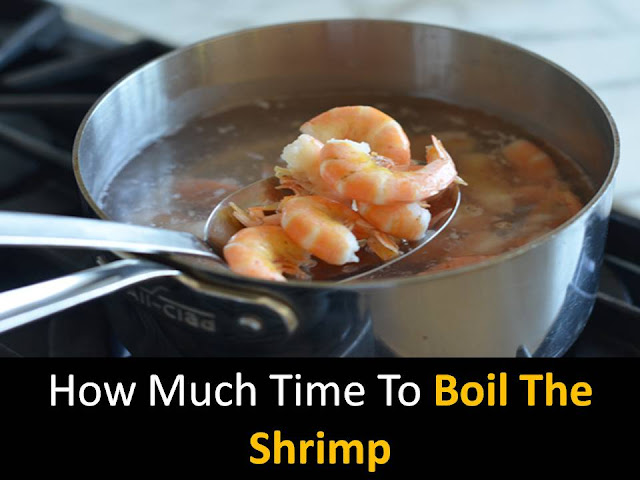 boil the shrimp