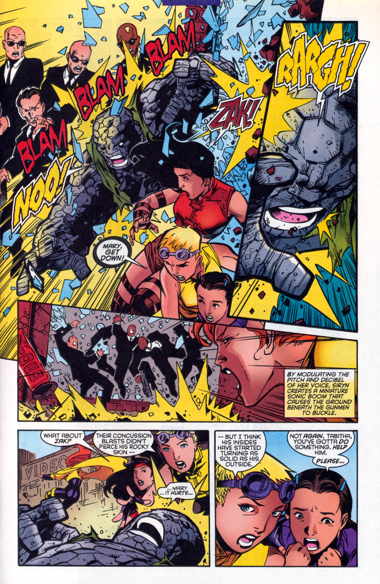 Read online X-Force (1991) comic -  Issue #86 - 25