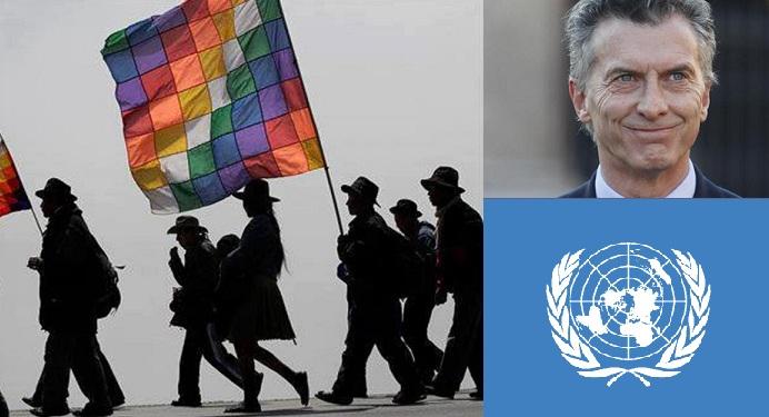 Argentina: fuertes críticas de experto de la ONU por la situación de los pueblos originarios