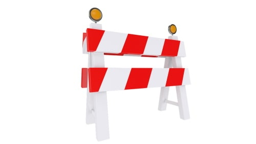 Roadblock is always present when we want to save money.