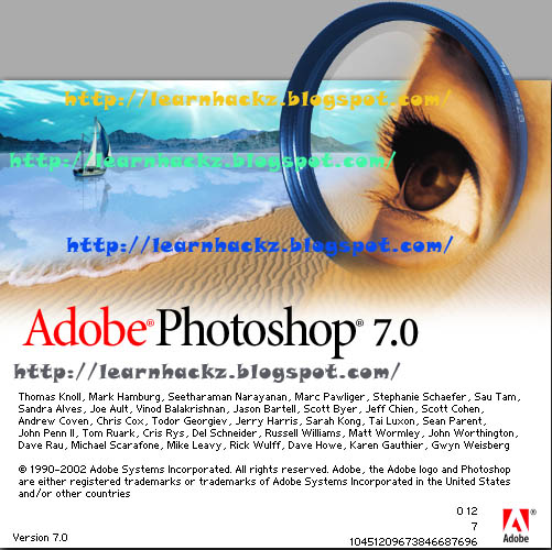Downloadable: adobe photoshop7. 0+ imageready.
