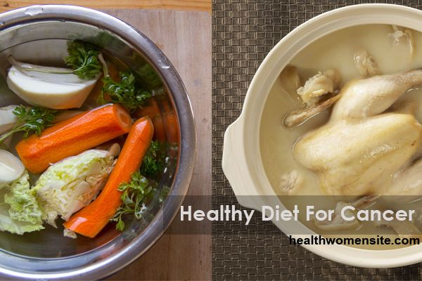Healthy Diet For Cancer - Foods To Allowed And Avoided