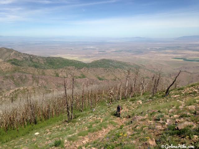 Girl On A Hike Hiking To Fool Creek Peak