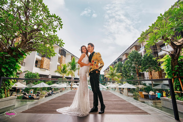 Foto video murah Bali Jakarta Bandung Medan Surabaya paket dengan rias make up gaun bridal istimewa