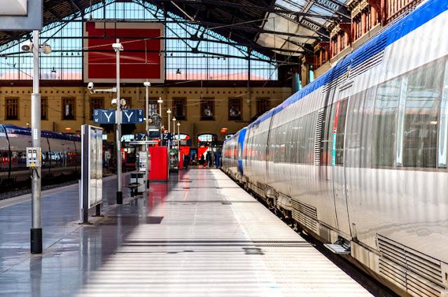 Trem em Marselha